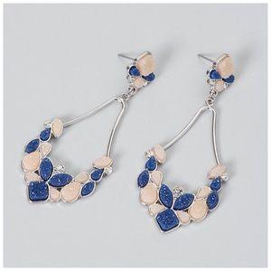Jewelry - Druzy Statement Earrings NWT